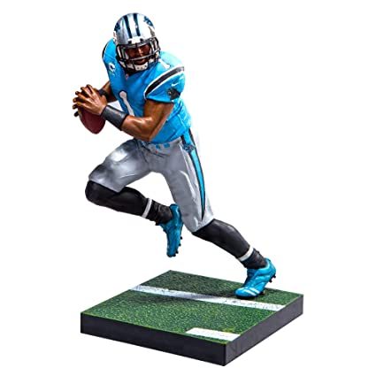 2bf493c5d81 Amazon.com  McFarlane Toys EA Sports Madden NFL 17 Ultimate Team Cam Newton  Carolina Panthers Action Figure  Toys   Games