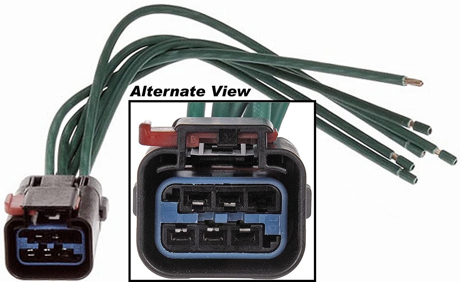 repair wires that came out of cr wire harness connector