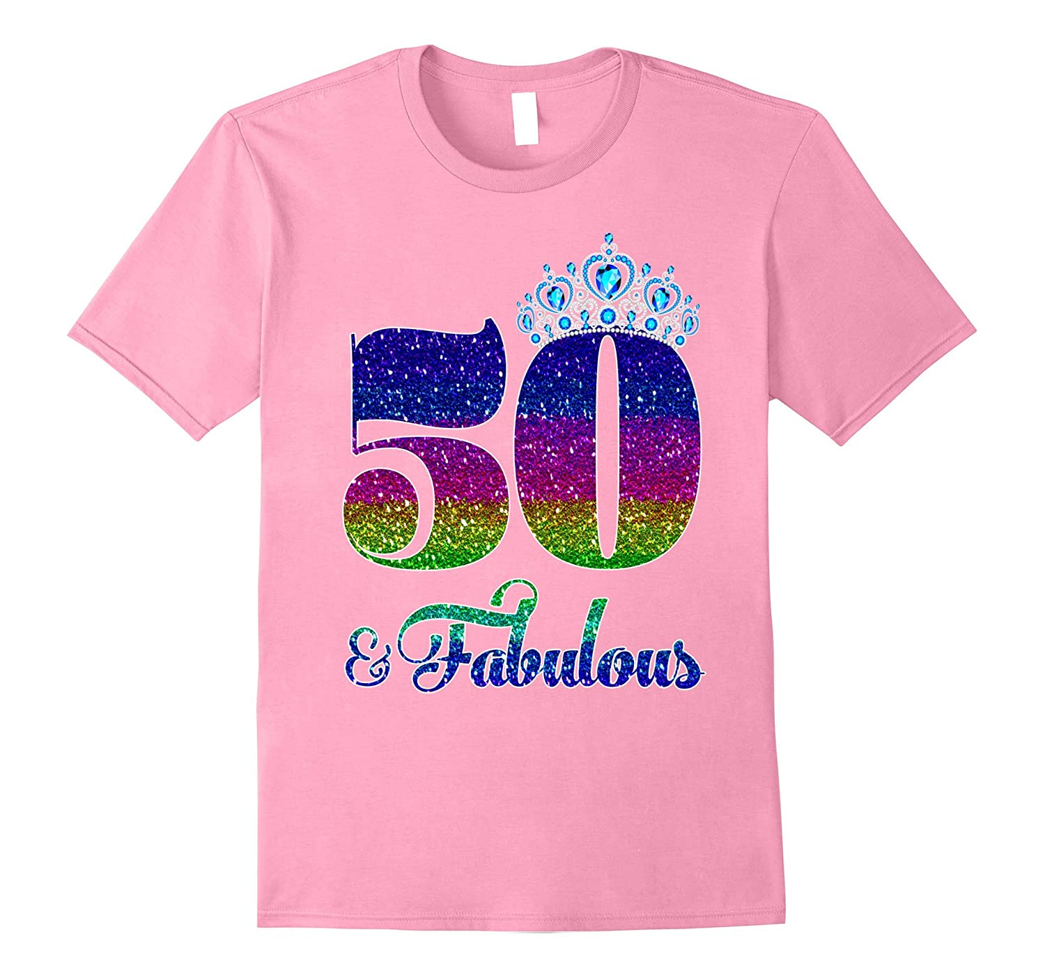 50 And Fabulous TShirt Queen 50th Birthday Shirt TH