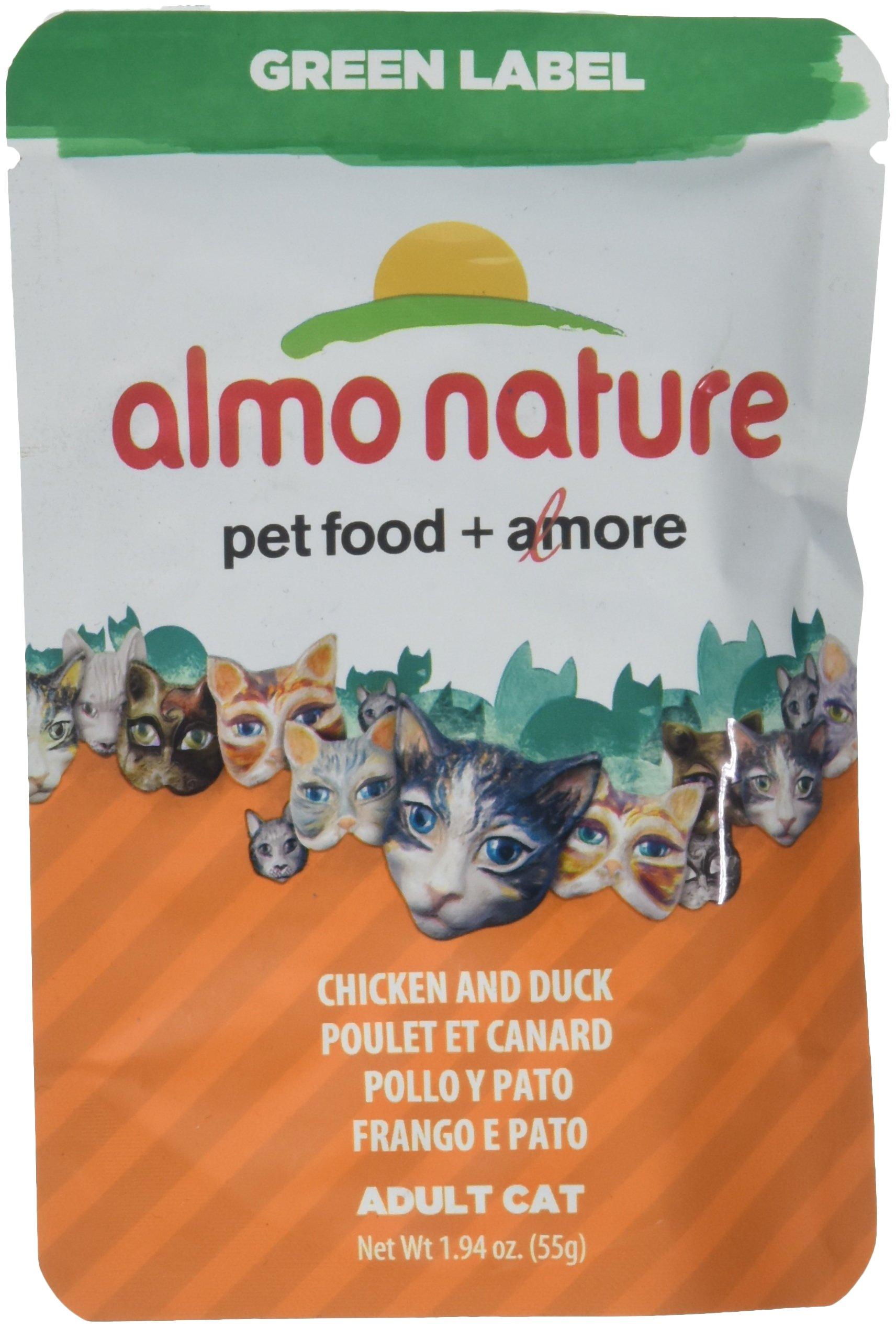 Almo Chicken Breast/Duck Cat Pouch, 1.94 Oz by Almo