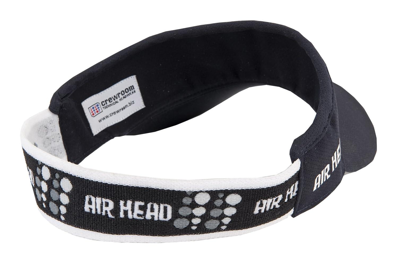 color azul intenso Visera microligera//ultraligera Crewroom Air Head talla /única