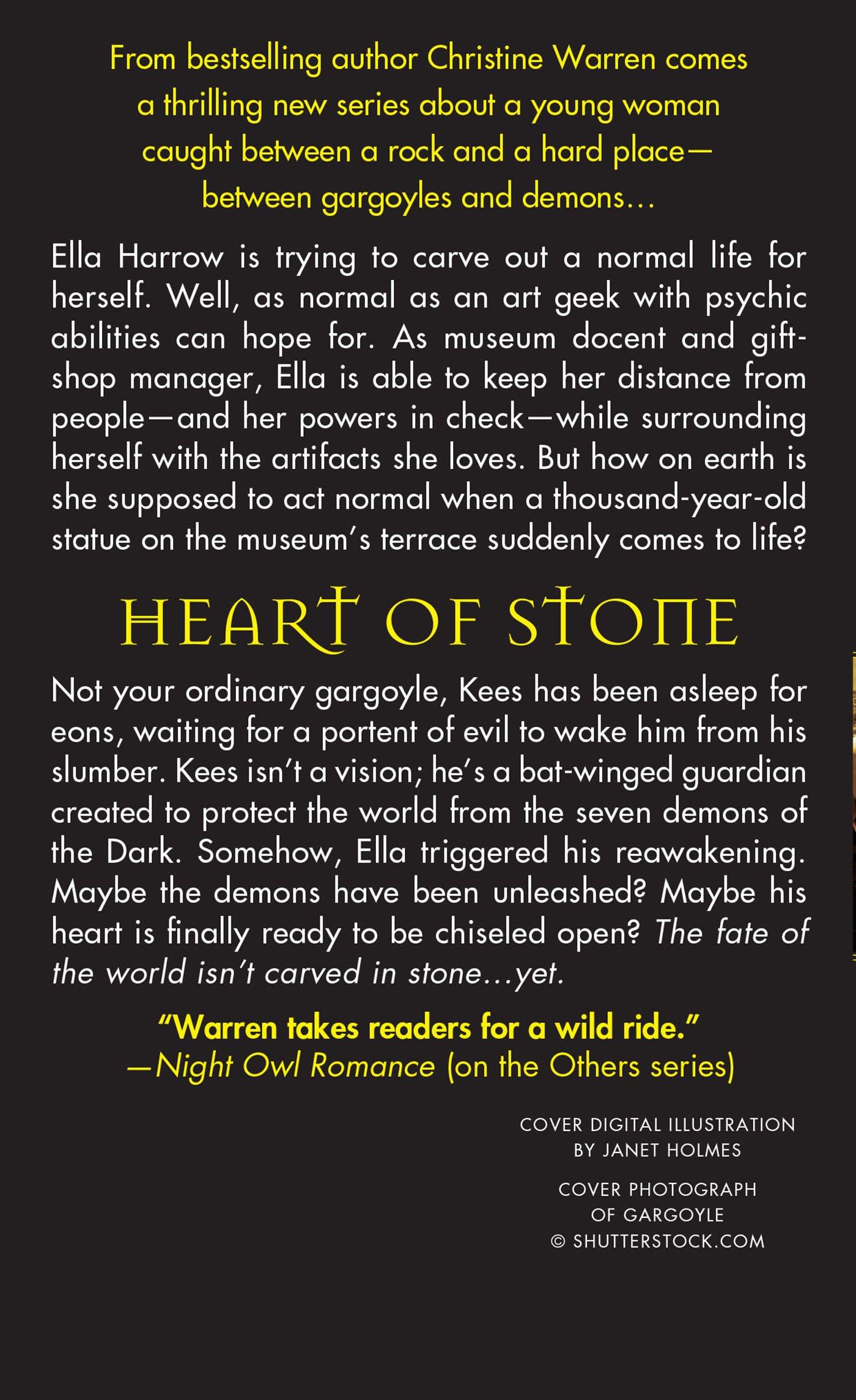 Heart of Stone: A Beauty and Beast Novel (Gargoyles Series) by St. Martin's Paperbacks