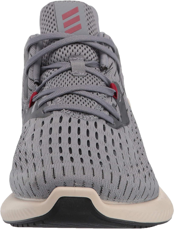 adidas Alphabounce+ Running Shoe Grey/Active Maroon/Linen
