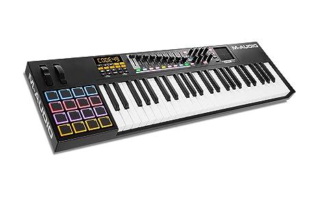 M-Audio Code 49 - Controlador MIDI USB con 49 teclas, 16 pads y