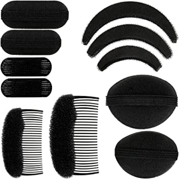 Black /& White Hair Slides 2 Piece Set Assorted Styles