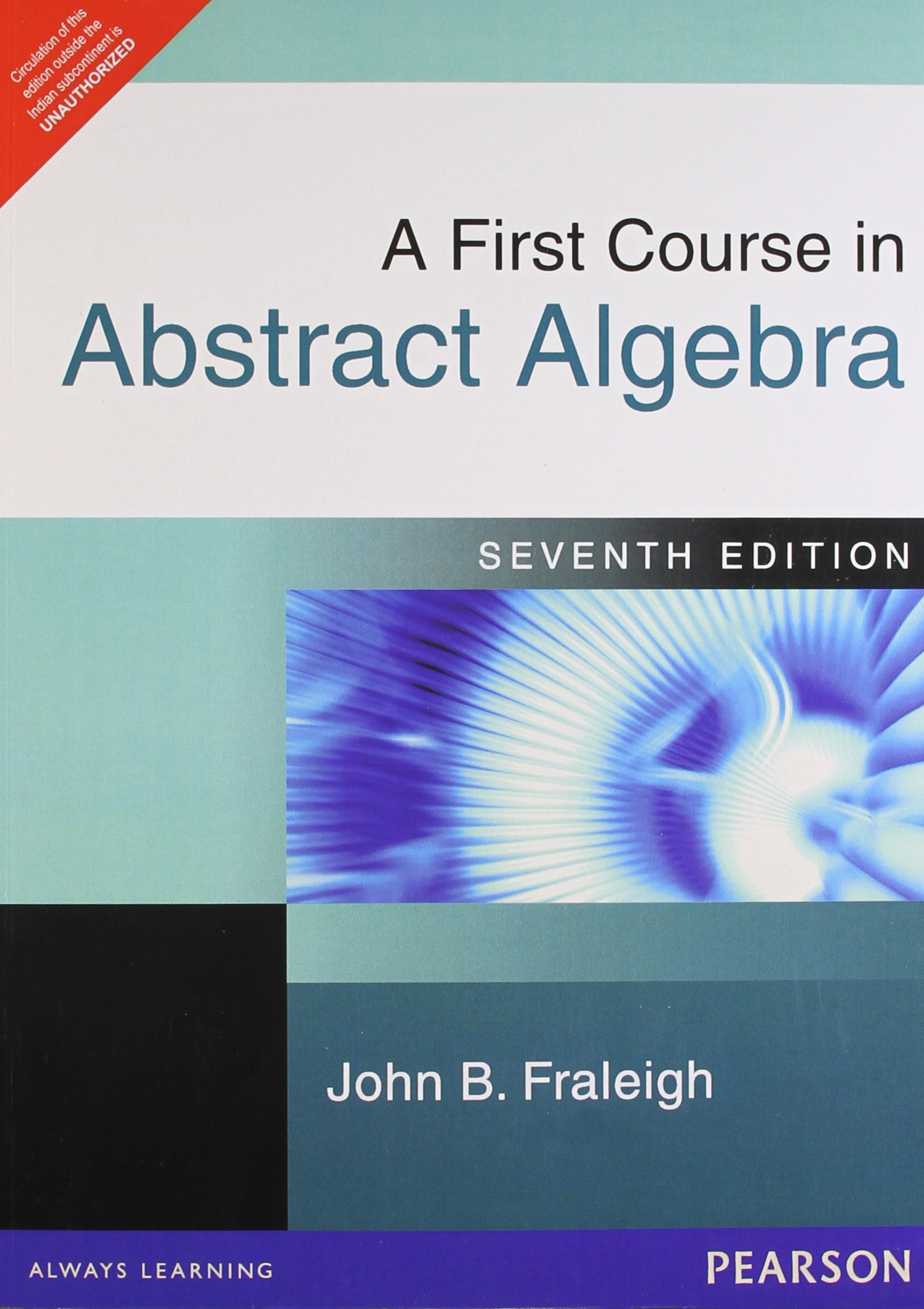 Buy a first course in abstract algebra 7th edition book online at buy a first course in abstract algebra 7th edition book online at low prices in india a first course in abstract algebra 7th edition reviews ratings fandeluxe Image collections