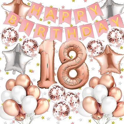 18 Geburtstag Xxl Zahl 18 Gold Im Shop