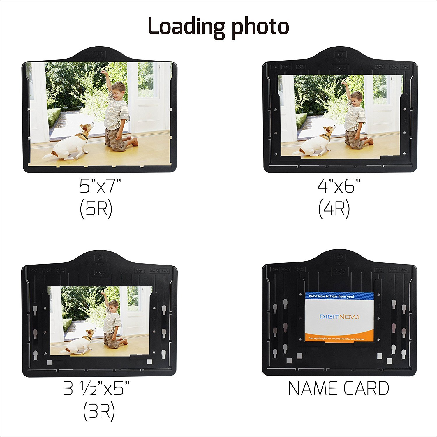 DIGITNOW 5M/10M 35mm Slides&Negatives Film Scanner Photo, Name Card, Slides and Negatives to Digital Converter for Saving Films to Digital Files in SD card(Included) with Photo Editing Software by DigitNow! (Image #3)