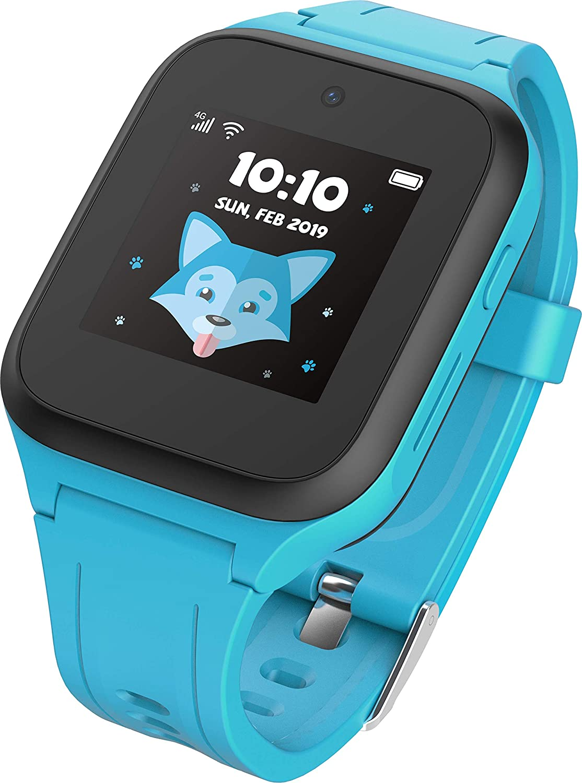 TCL MT40X Movetime - Smartwatch para niños (con Tarjeta Nano SIM, GPS, cámara y botón de Llamada de Emergencia)