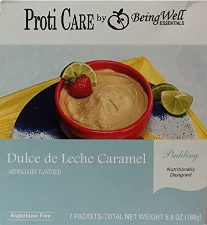 Proti Care High Protein Diet Pudding Mix - 80-90 Calories - 7 Servings (
