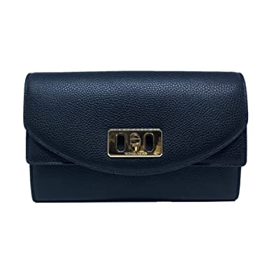 68ca363250572c Michael Kors Karson Wallet Clutch Leather Black (35T8GKRC7L): Amazon ...