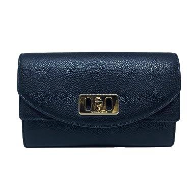 michael kors karson wallet clutch leather black 35t8gkrc7l rh amazon com