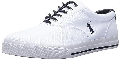 6t Vêtements, accessoires Chaussures Polo Ralph Lauren Tout-Petit pour Garçons Vaughn Toile Noire Baskets Sz