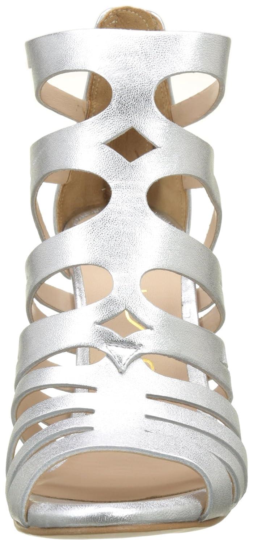 Unisa Damen Wandeo_LMT Peeptoe Sandalen Silber (Silver) (Silver) Silber 677532
