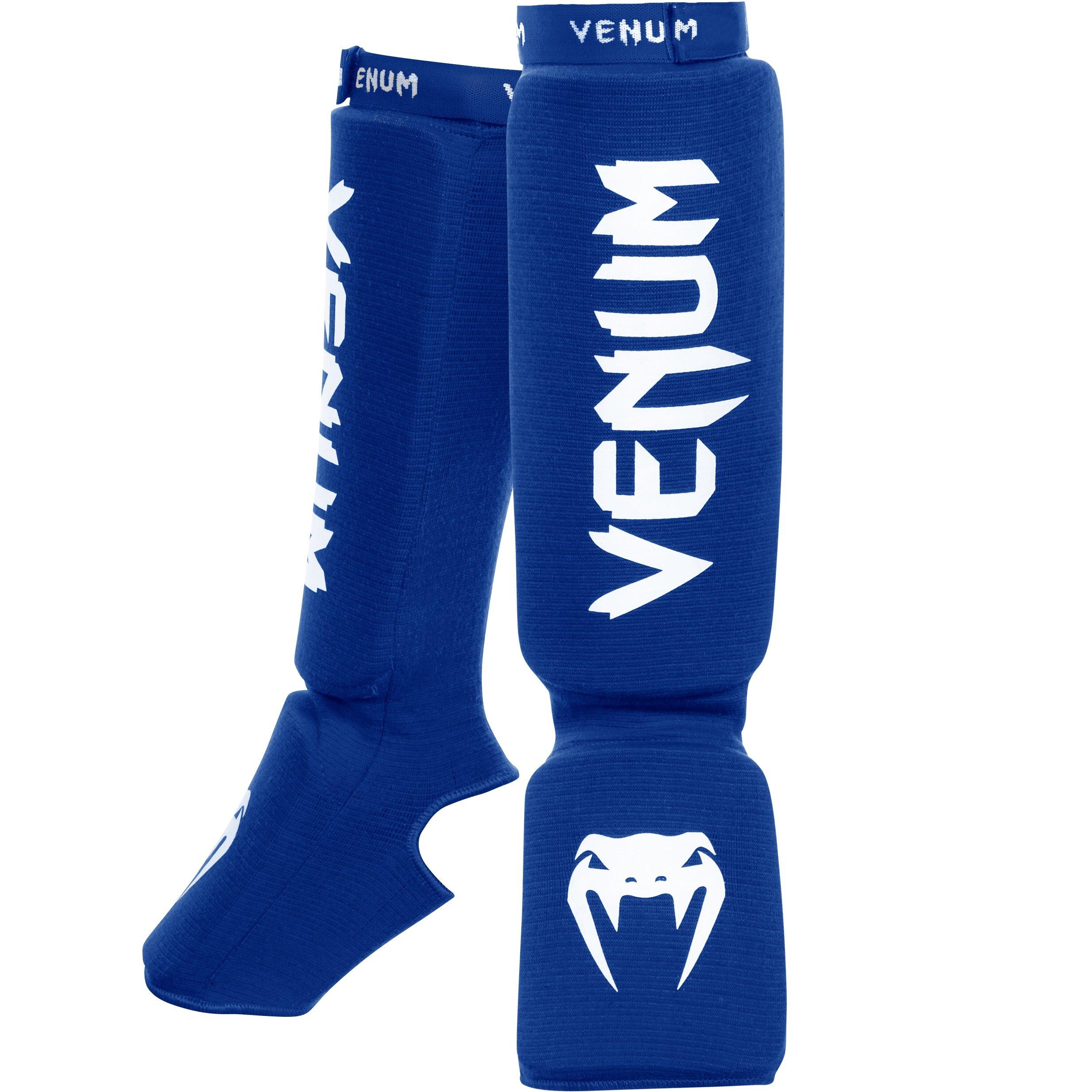 Venum ''Kontact'' Shin and Instep Guards, Blue