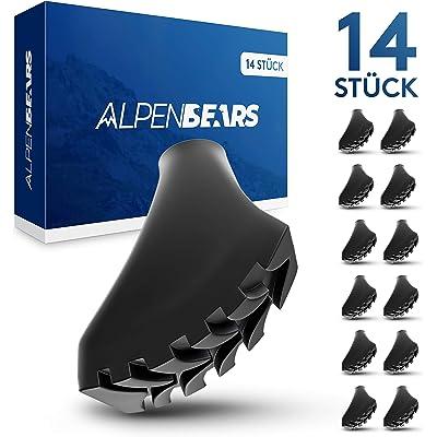 Alpen Bears Orginal Nordic-Walking & Wanderstock Gummipuffer Set [14] unidades