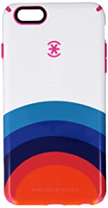 Speck Products CandyShell Inked Jonathan Adler Cell Phone Case for iPhone 6 Plus/6S Plus, Sunrise/Lipstick Glossy