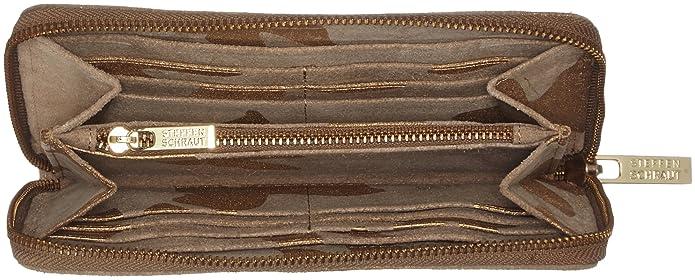 Coral Butterfly Wallet I, Womens Wallet, Braun (Hazelnut), 2x12x19 cm (B x H T) Steffen Schraut