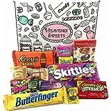 Boîte American Candy | Mini Coffret Cadeau Américain Bonbons, Chocolat, Jelly Belly Beans | Sélection de confiseries chocolats authentiques | Boîte de 12 pièces