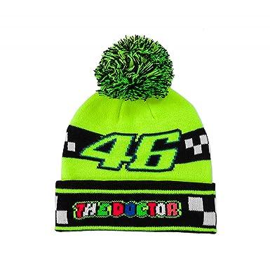 2fe6b400d0b VR46 Valentino Rossi MotoGP  The Doctor  46 Kids Youth Bobble Beanie ...