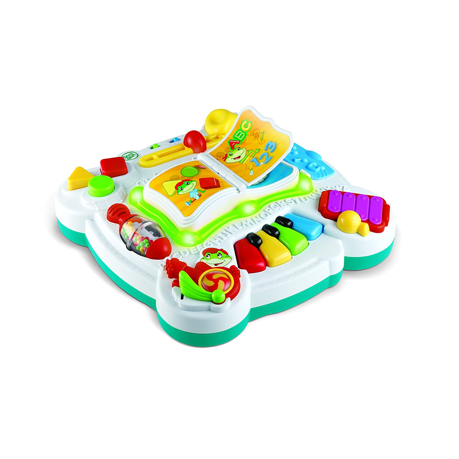 amazon com leapfrog learn and groove musical table baby rh amazon com