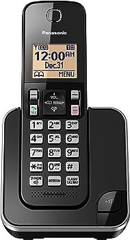 Panasonic KX-TGC350B Expandable Cordless Phone w/ 1 Handset