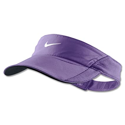 Image Unavailable. Image not available for. Color  Nike Women s Purple  Tennis DRI-FIT Visor Adjustable 3ae7a0ccf4e