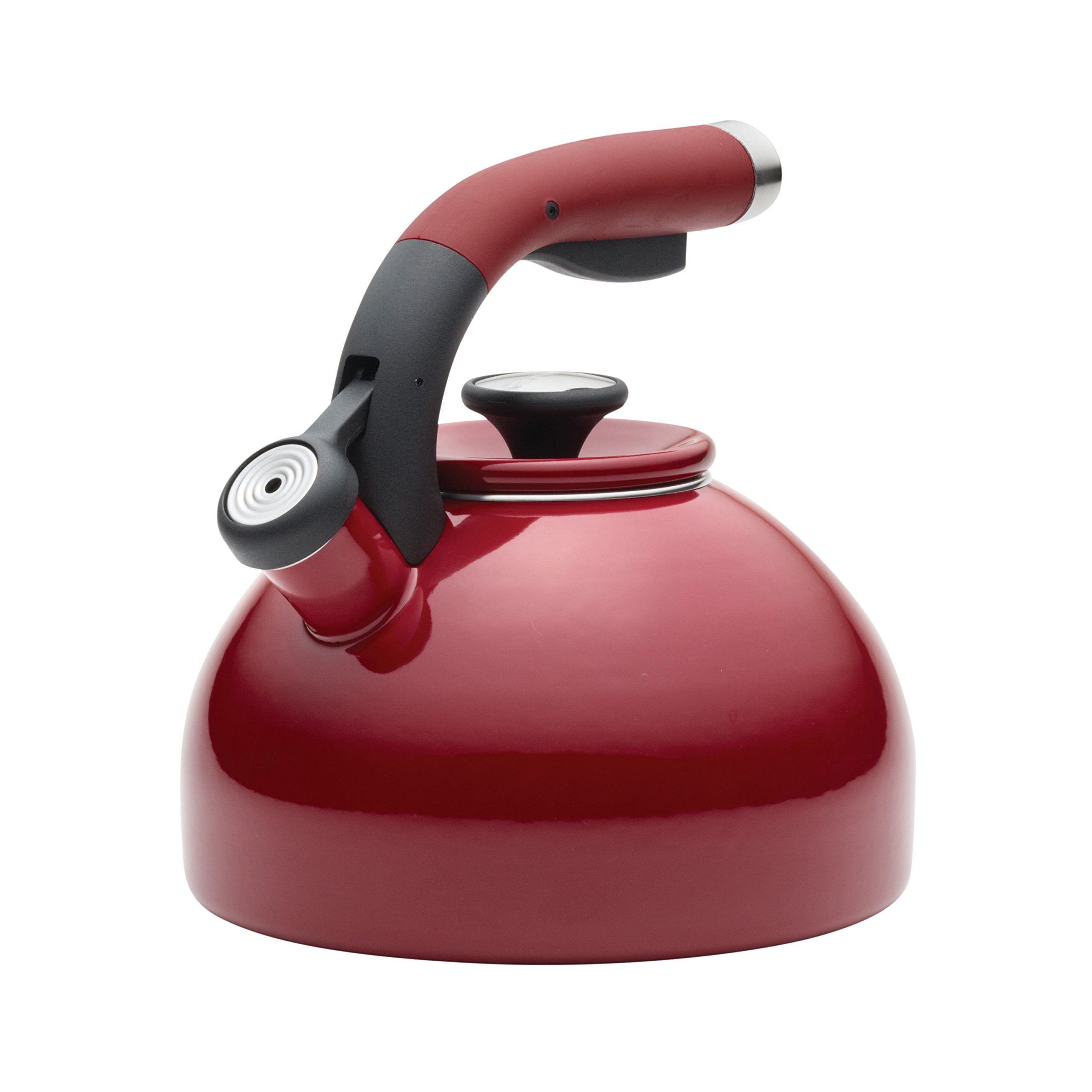 Circulon 2-Quart Morning Bird Teakettle, Circulon Red by Circulon (Image #5)
