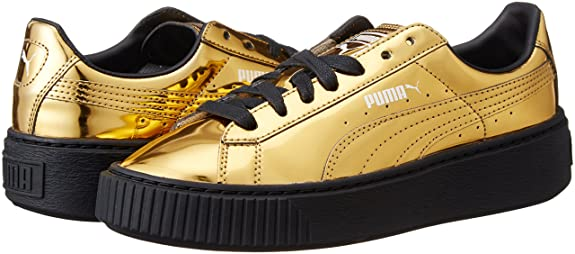Puma Basket Platform Metallic  Amazon.co.uk  Shoes   Bags 9a9b752db