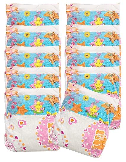 Babypuppen & Zubehör Heless Puppenwindeln im 3er-Pack in 2 Größen