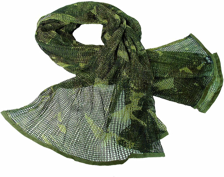 Tactical Sorgo Netting Military Scrim Net Scarf Face Veil British Army DPM Camo
