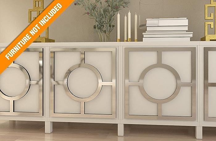 Homeartdecor Porto Fretwork Overlay Passend Für Ikea Besta