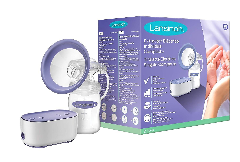NUEVO Sacaleches Individual Eléctrico Compacto de Lansinoh. Extractor compacto con batería USB