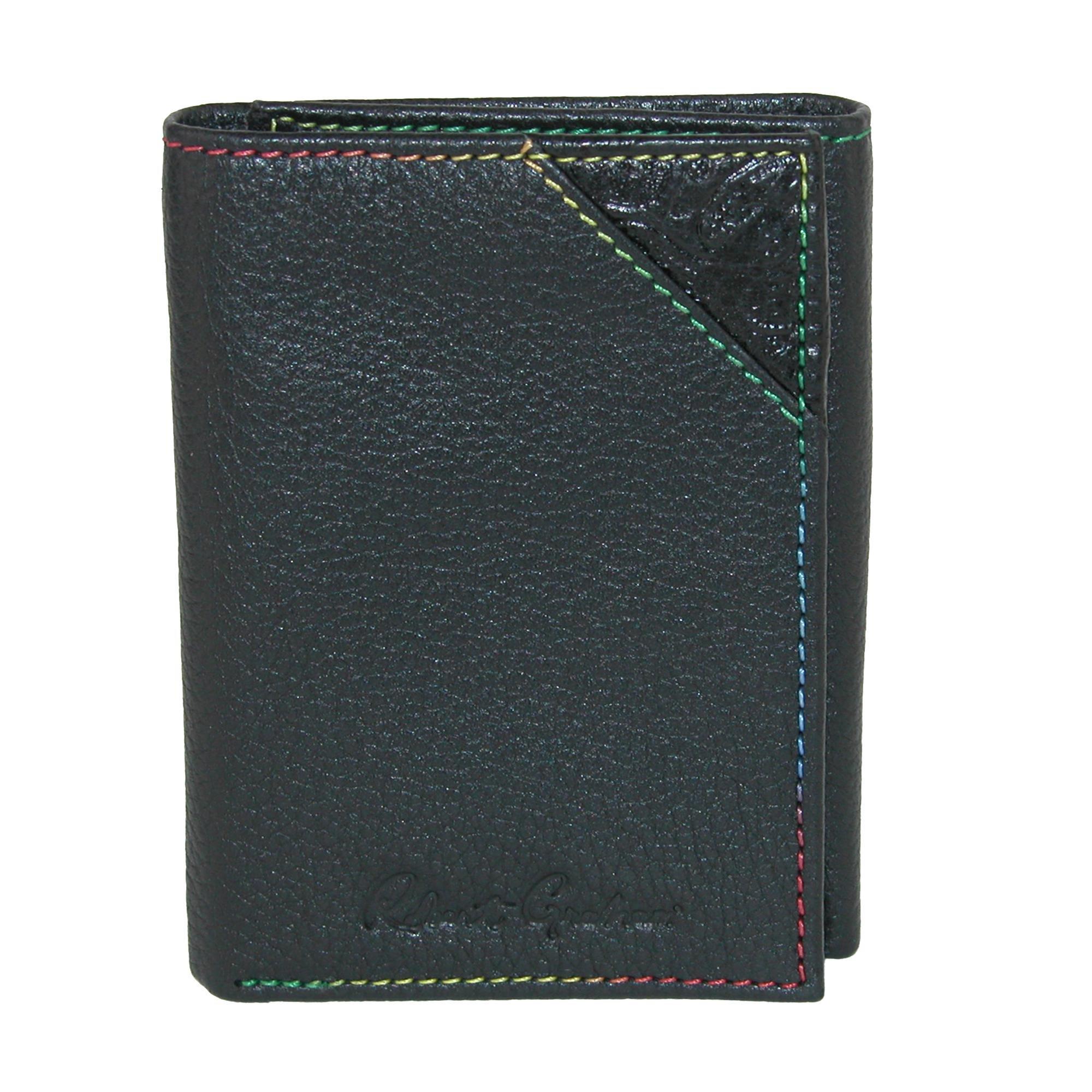 Robert Graham Men's Clarke Trifold Wallet, Black, One Size