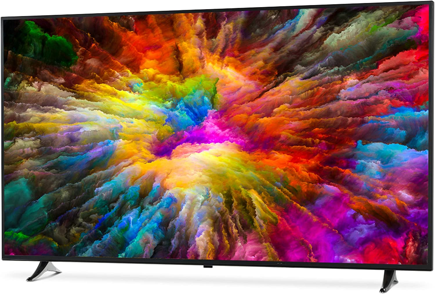 Medion X16513-163,8 cm (65 Zoll) TV (4K Ultra HD, HDR, Smart TV, PVR, WLAN, Triple Tuner (DVB T2), USB): Amazon.es: Electrónica
