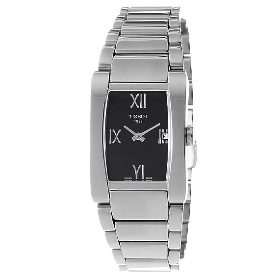 Tissot GENEROSI-T T0073091105300 - Reloj de mujer de cuarzo, correa de acero inoxidable