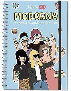 Agenda 2018 2019 Moderna De Pueblo Tantanfan Amazones Moderna