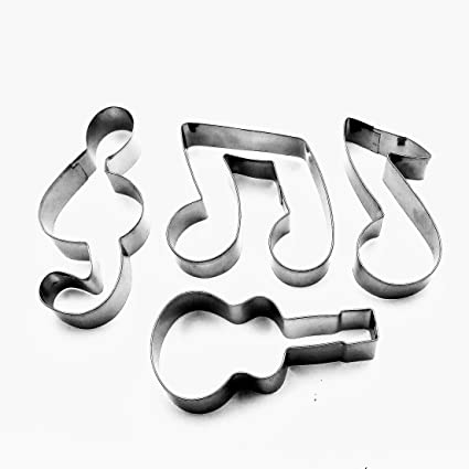 Music Note G Clef 4.25/'/' Cookie Cutter NEW