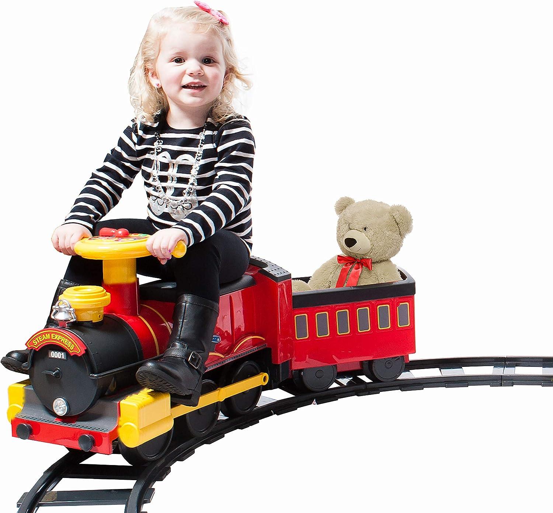 Rollplay Steam Train 6-Volt Battery- Powered Ride-On