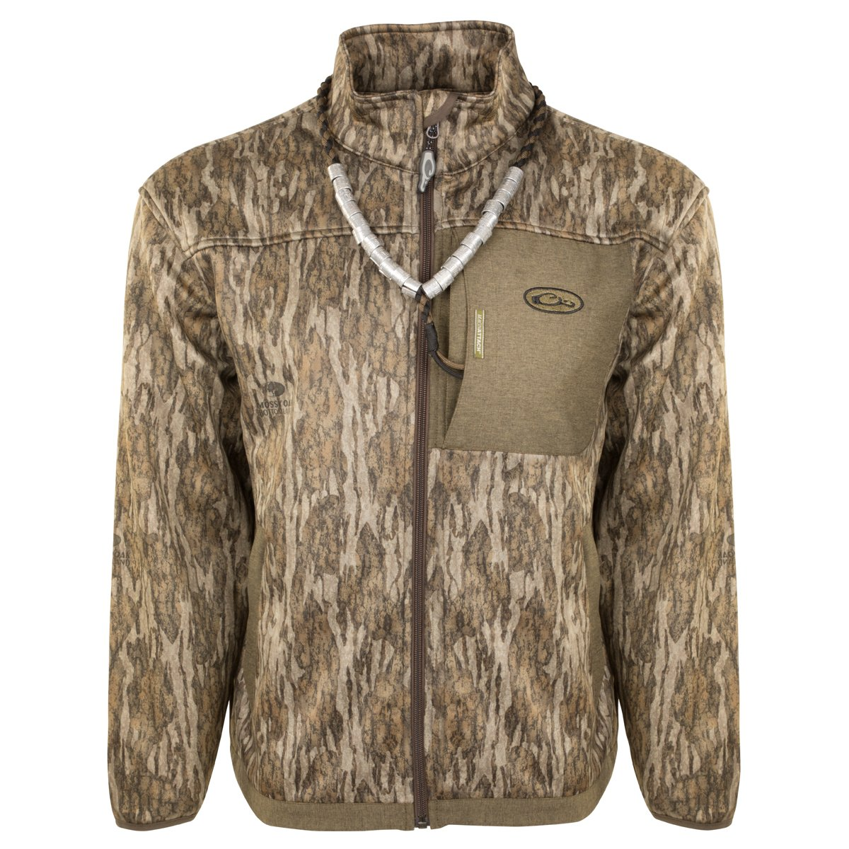Drake MST Endurance Hybrid Liner Full Zip (Bottomland, Medium)
