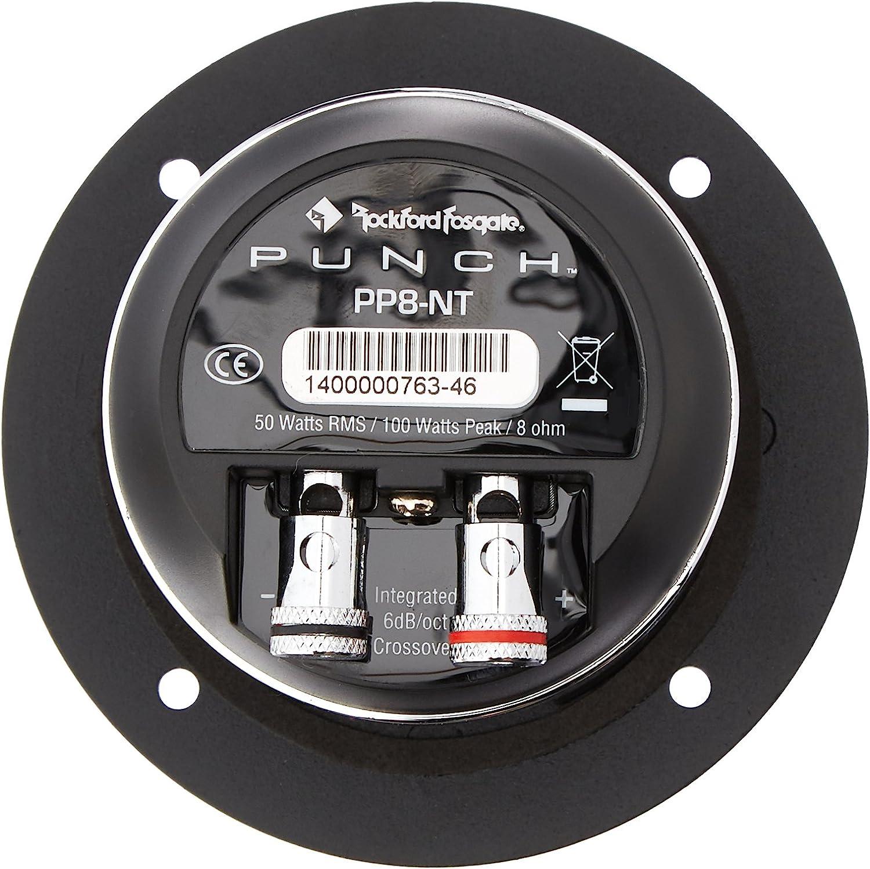 Rockford Fosgate PP8-NT Punch Pro 1 8-Ohm Neodymium Tweeter-Set of 1