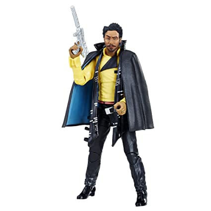 94f35f35 Amazon.com: Star Wars The Black Series Lando Calrissian 6-inch Figure: Toys  & Games