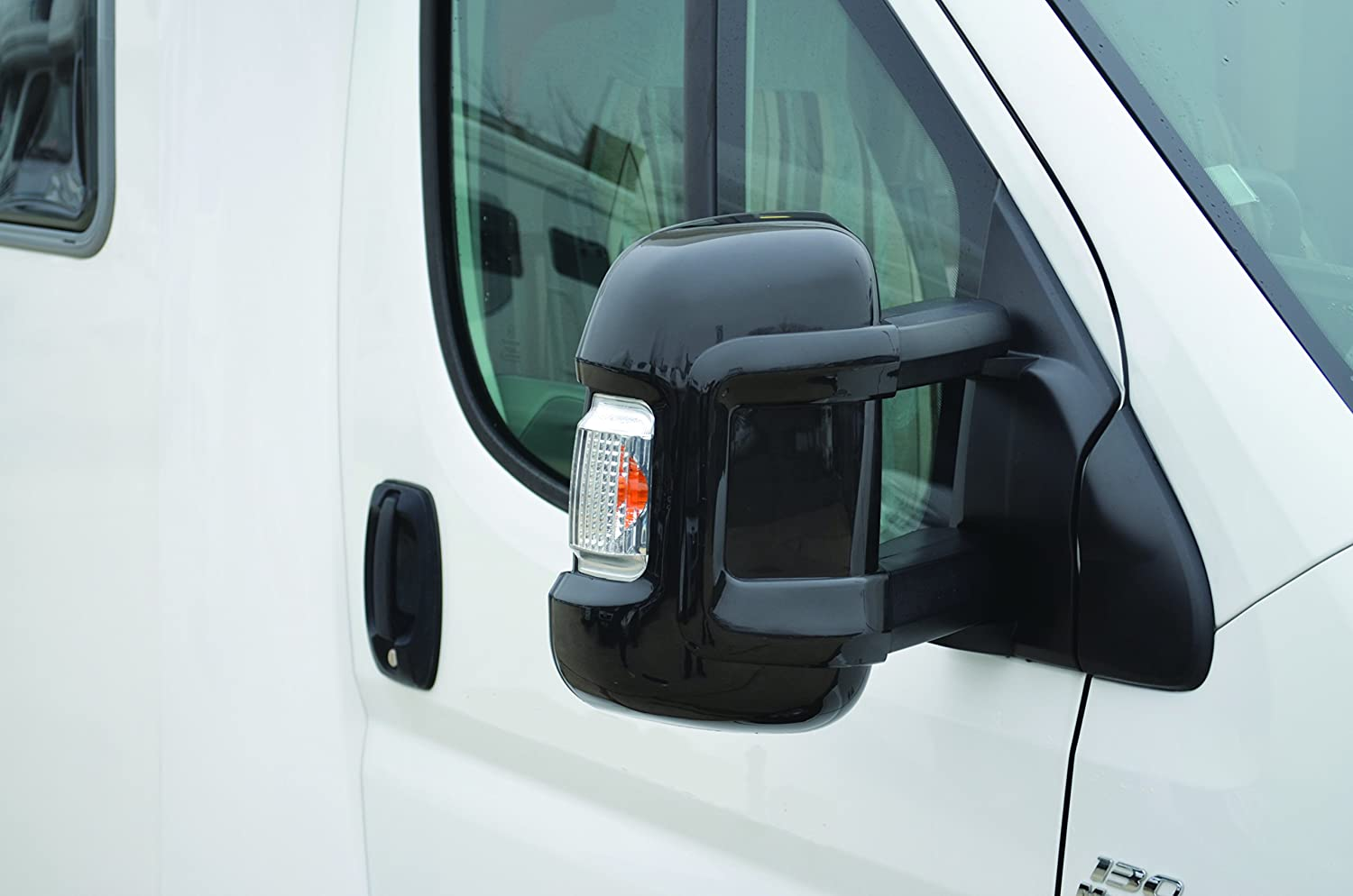 /> Electric Wing Mirror Pair Right O//S Fiat Ducato Boxer 2006 Relay