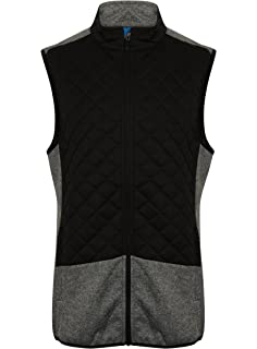 3bff2250c041 Island Green 2017 Full Zip Lightweight Thermal Padded Gilet Mens Golf Vest
