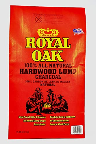 Royal Oak 195228021 15.4# NAT Lump Charcoal