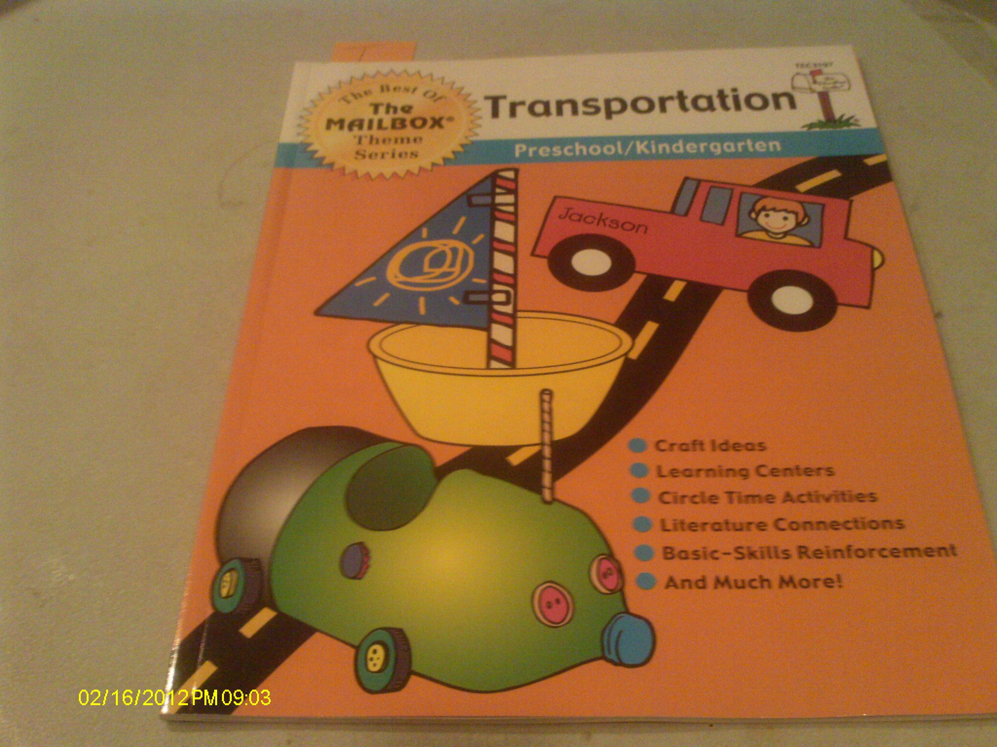 """Download The Best of """"The Mailbox"""" Theme Series 'Transportation' pdf epub"""