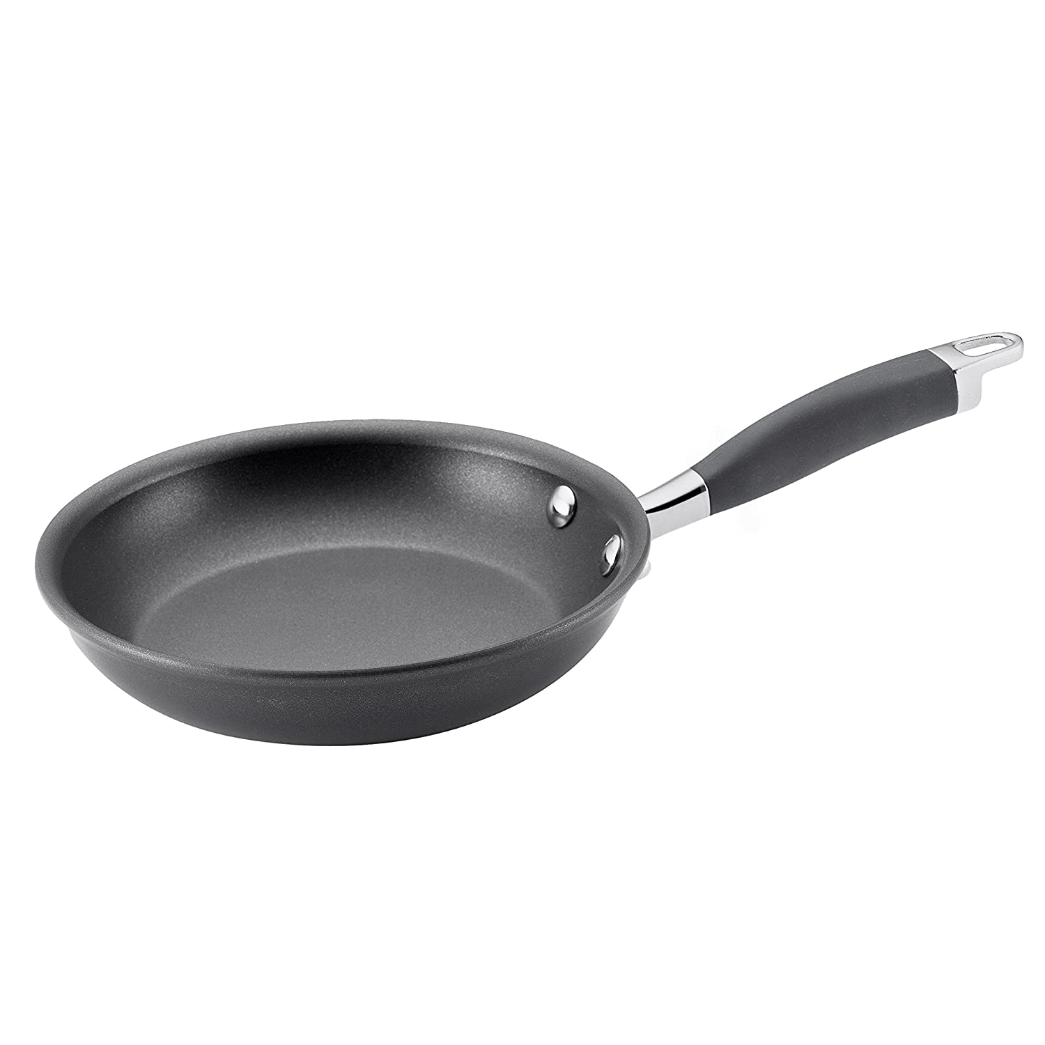 Anolon Advanced Hard-Anodized Nonstick 8-Inch French Skillet, Gray