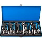 Kit réparation de filetages filets rapportes m5-m6-m8-m10-m12 mm