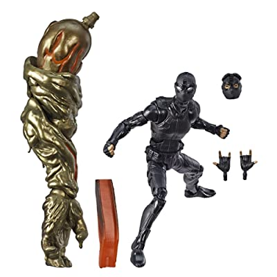 "Spider-Man Marvel Legends Series Far from Home 6"" (Stealth Suit) Collectible Figure: Toys & Games"