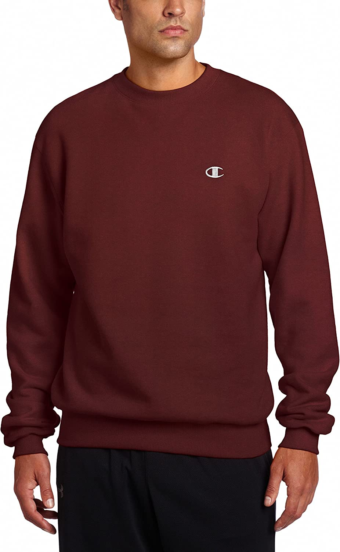 Champion Mens Pullover Eco Fleece Sweatshirt
